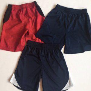 3 Boys Athletic Shorts Bundle